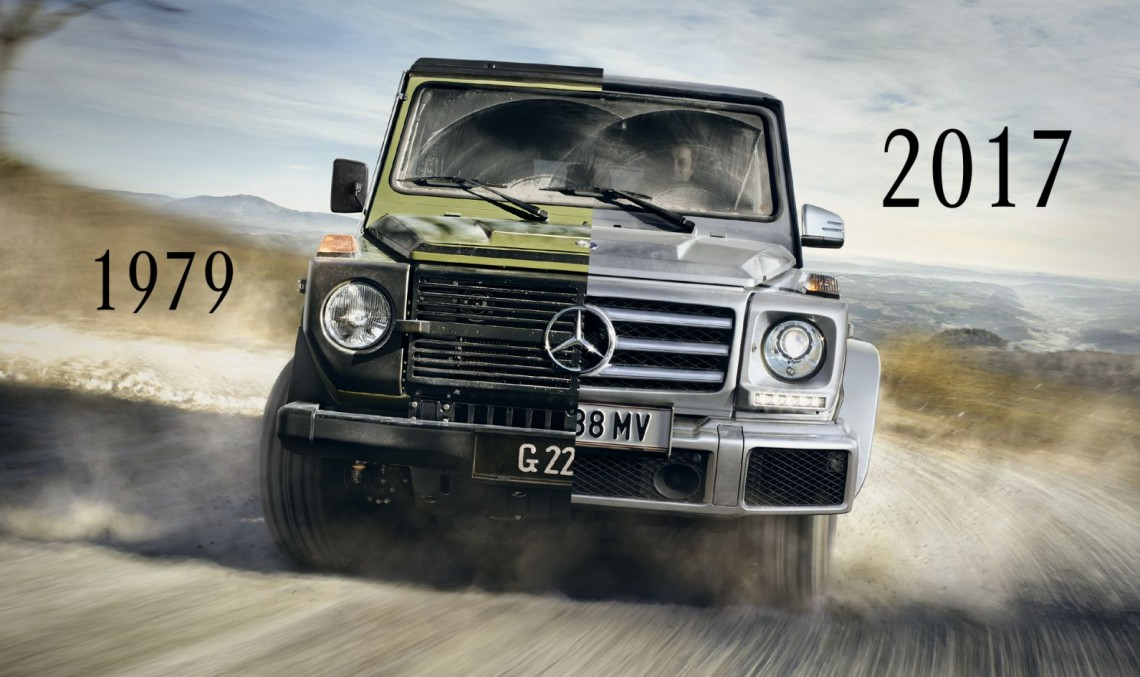 Legend on wheels – The history of the Mercedes-Benz G-Class year by year