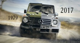 Mercedes recalls 1979, the year the legendary G-Class was born, with nostalgic video