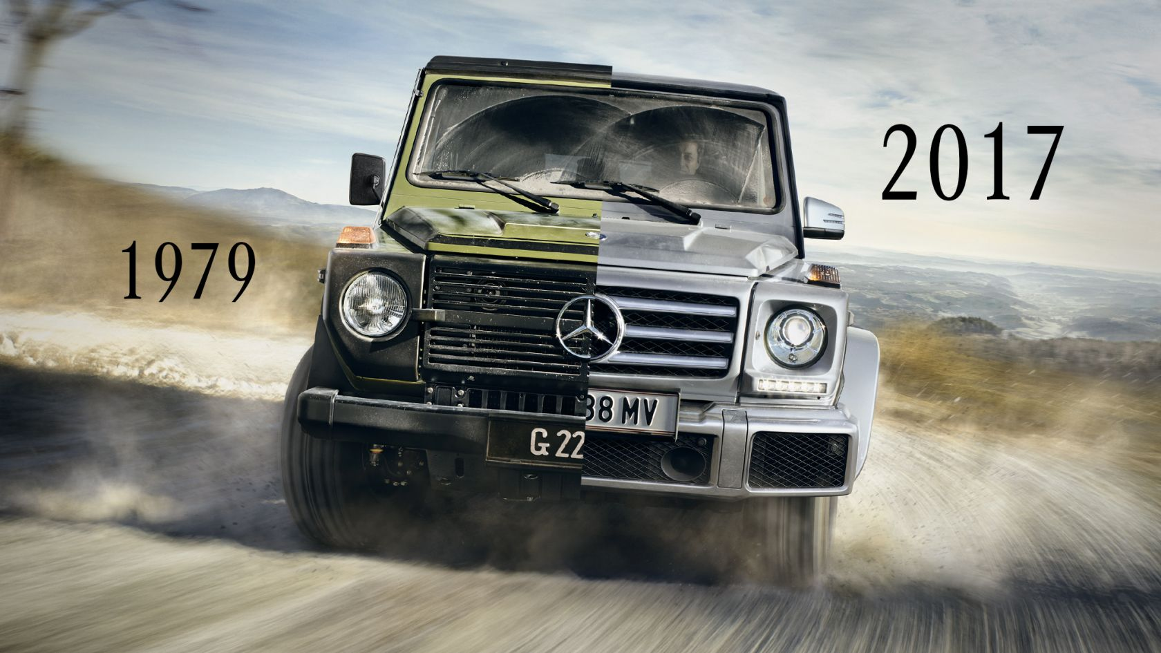legend on wheels - the history of the mercedes-benz g-class year