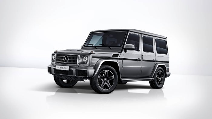 The G-Class is now available as Limited Edition