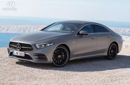 Could it be? The Mercedes-Benz CLS images leaked online