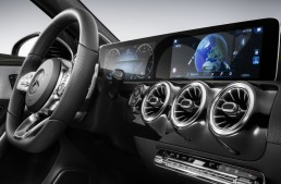 CES 2018: World premiere of new Mercedes MBUX infotainment system