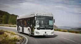 Emission-free through the city: Mercedes-Benz Citaro electric bus