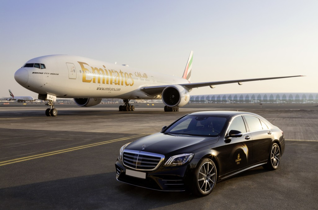 Fly Emirates Boeing 777: Fly like in the S-Class