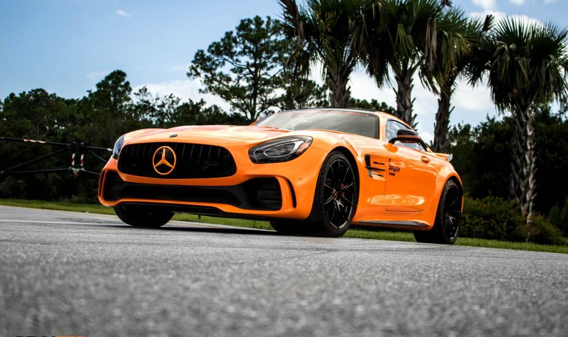 Hello, pumpkin! Renntech takes the Mercedes-AMG GT R to 761 HP