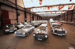 800 hidden classics: The secret vault of the Mercedes-Benz Museum
