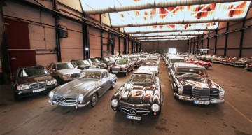 800 hidden classics: The secret vault of the Mercedes-Benz Museum
