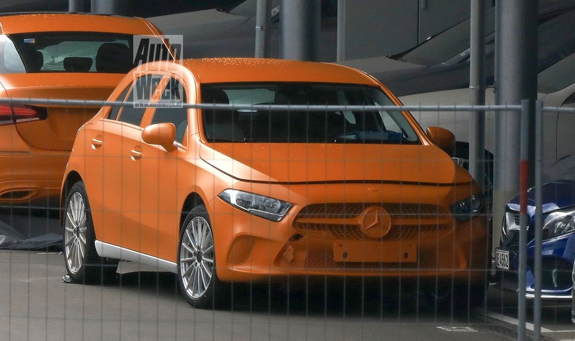 First photos: New Mercedes A-Class revealed with no camouflage