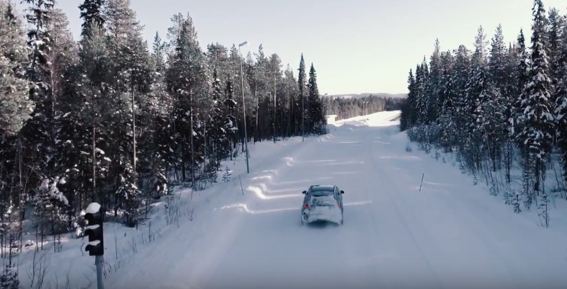 Dashing through the snow – First official video of the 2018 Mercedes-Benz A-Class