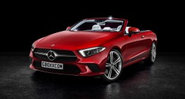 It's a must! The new Mercedes-Benz CLS rendered as a Coupe, a Convertible and an AMG variant