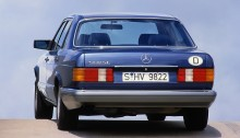 Mercedes-Benz 560 SE (1988 bis 1991) der S-Klasse Baureihe 126. Mercedes-Benz 560 SE (1988 to 1991) of S-Class series 126.
