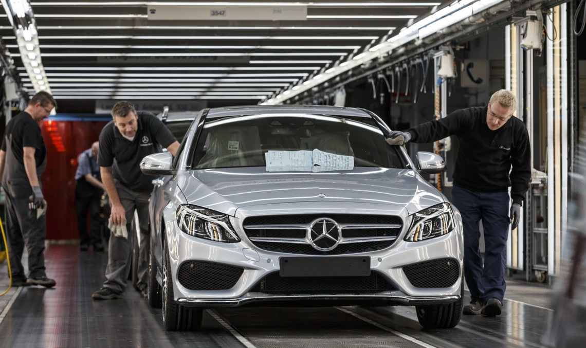 The production of the Mercedes EVs might push the C-Class out of the Alabama plant