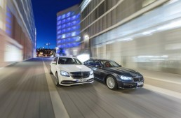 Six-cylinder luxury: Mercedes S 450 4Matic versus BMW 740i