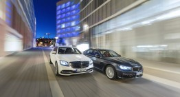 Six-cylinder luxury: Mercedes S 450 4Matic versus BMW 740i