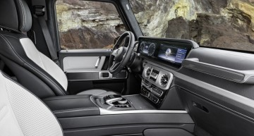 New Mercedes G-Class interior revealed – first official pictures