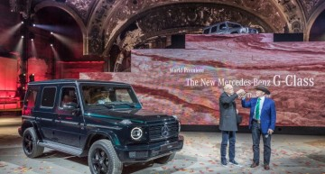 The all-new Mercedes-Benz G-Class is just the right car for Terminator Arnold Schwarzenegger