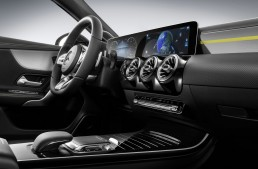Next-gen MBUX user interface was presented at the 2018 CES