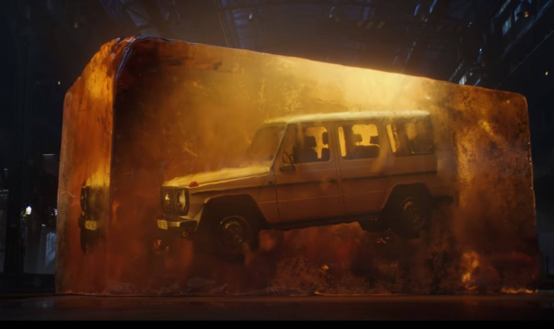 Mercedes-Benz G-Class fossilized: Find out how it was made – video