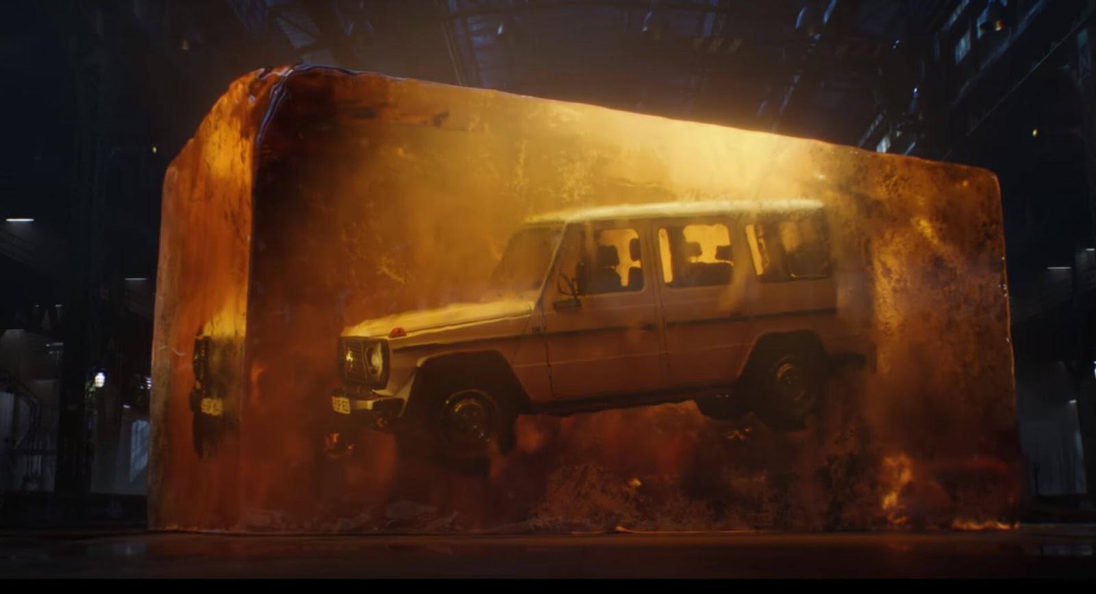Will The Mercedes Benz G Class Star In The 2018 Jurassic World Fallen Kingdom Mercedesblog