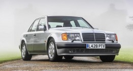 Mr. Bean sells his Mercedes-Benz 500 E collection