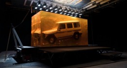 The car that deserves it – Most spectacular installation for the world premiere of the new G-Class