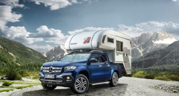 Ready for adventure – First camper van based on the X-Class is here