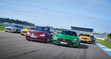 50 years of AMG: Best ever six Mercedes-AMG cars gather for the anniversary