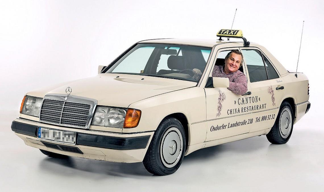 Die Hard: 1.3 million kilometers for Mercedes W124 taxi