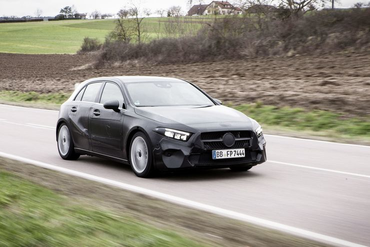 First test ride with new Mercedes A-Class: Next-gen baby Benz