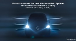 All-new Mercedes Sprinter debuts on February 6