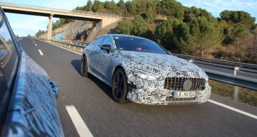 Teaser – The 4-door Mercedes-AMG GT is on its way to Geneva