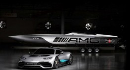 Cigarette Racing 515 Project ONE – This is the speed boat inspired by the Mercedes-AMG hypercar