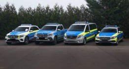 International Police Trade Fair – the police cars that you don't want to escape