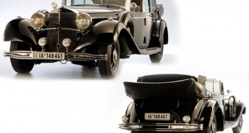 Not enough. Hitler's Mercedes-Benz 770K not sold at the auction for $7 million