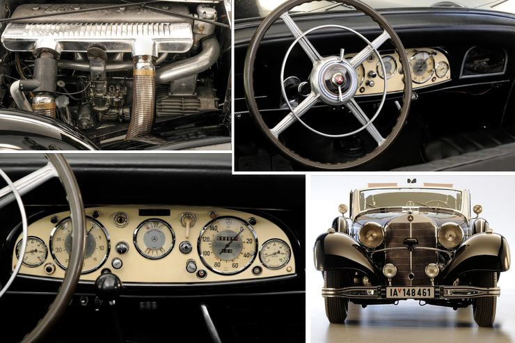 Not enough. Hitler's Mercedes-Benz 770K not sold at the auction for $7  million - MercedesBlog
