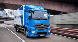 Electric truck arrives in 2021: Mercedes eActros first test by auto motor und sport