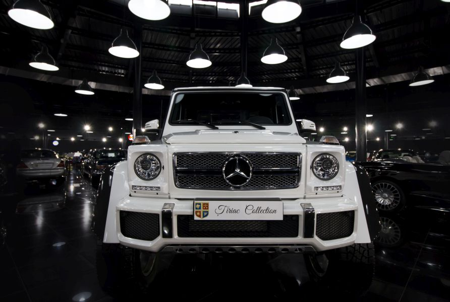 Mercedes-Maybach G 650 Landaulet in the Tiriac Collection