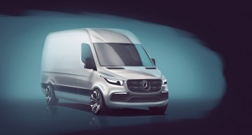 LIVE – World premiere of the new Mercedes-Benz Sprinter. Stay tuned!