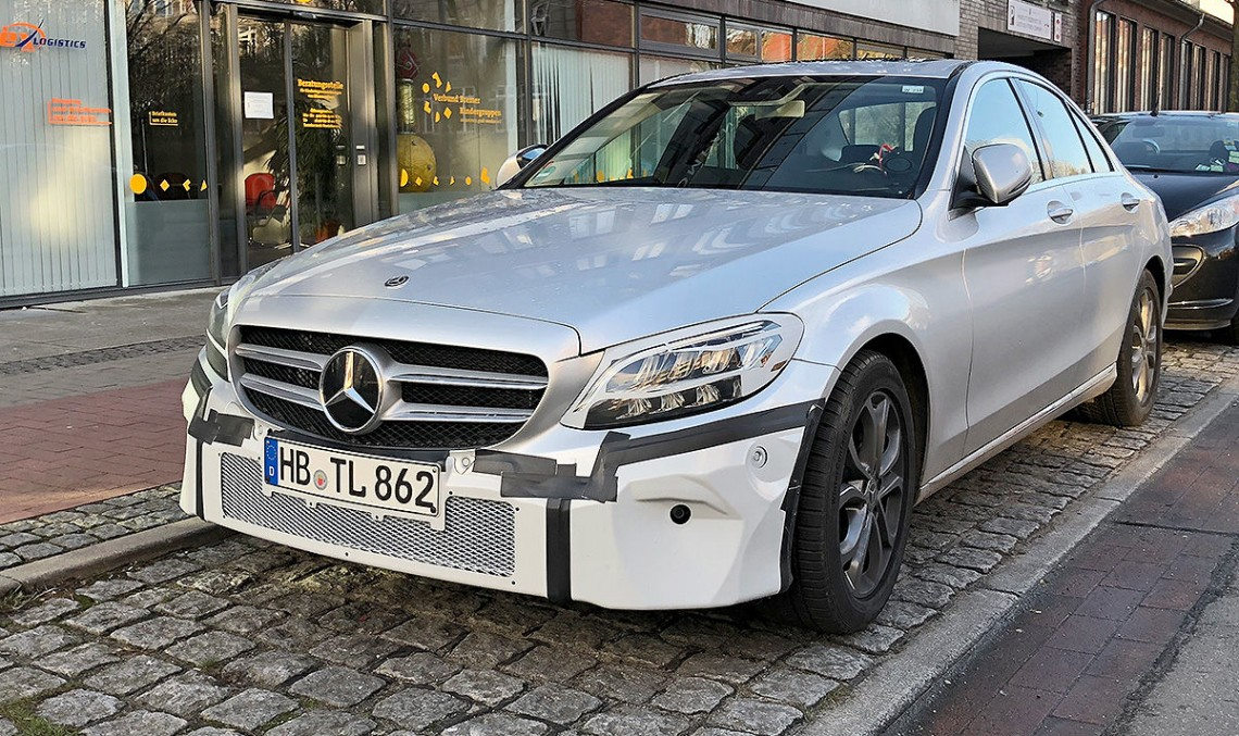 Updated Mercedes C-Class heading to Geneva with new look