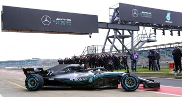 Formula 1 Mercedes-AMG F1 W09 EQ Power+ This is the new Silver Arrow