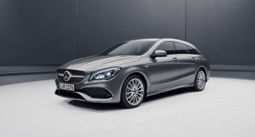 CLA Shooting Brake Night Edition premieres in Geneva
