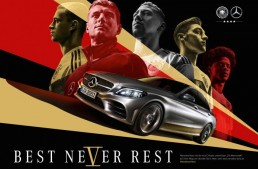Mercedes-Benz starts the football World Cup campaign – Best never rest