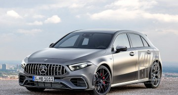 2018 Mercedes-AMG A 45: New sporty A-Class with 400 hp
