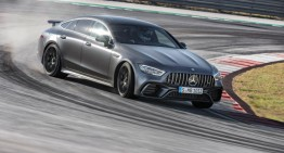 Boldly go to where no sedan has gone before – The Mercedes-AMG GT 4-Door Coupé in motion. VIDEO