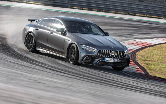 The V8-powered AMG GT 4-door Coupé is now available for order
