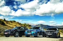 Super comparison test: Mercedes-AMG GLC 43 vs Porsche Macan GTS, BMW X4 M40i