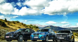 Super comparison test: Mercedes-AMG GLC 43 vs Porsche Macan GTS, BMW X4 M40i