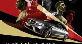 2018 Football World Cup in Russia: Mercedes-Benz campaign supports the German team