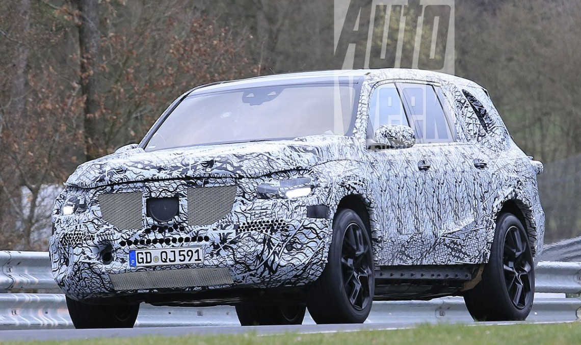 2019 MERCEDES GLS gets ready for Beijing preview – new spy pics