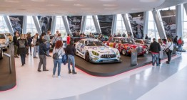 "The special exhibition ""50 Years of AMG"" ends in style with a passenger ride event"